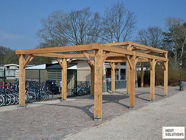 Houten pergola houtsolutions - Pergola houten ...