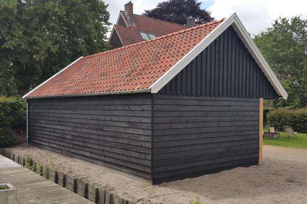 Klassieke houten huur