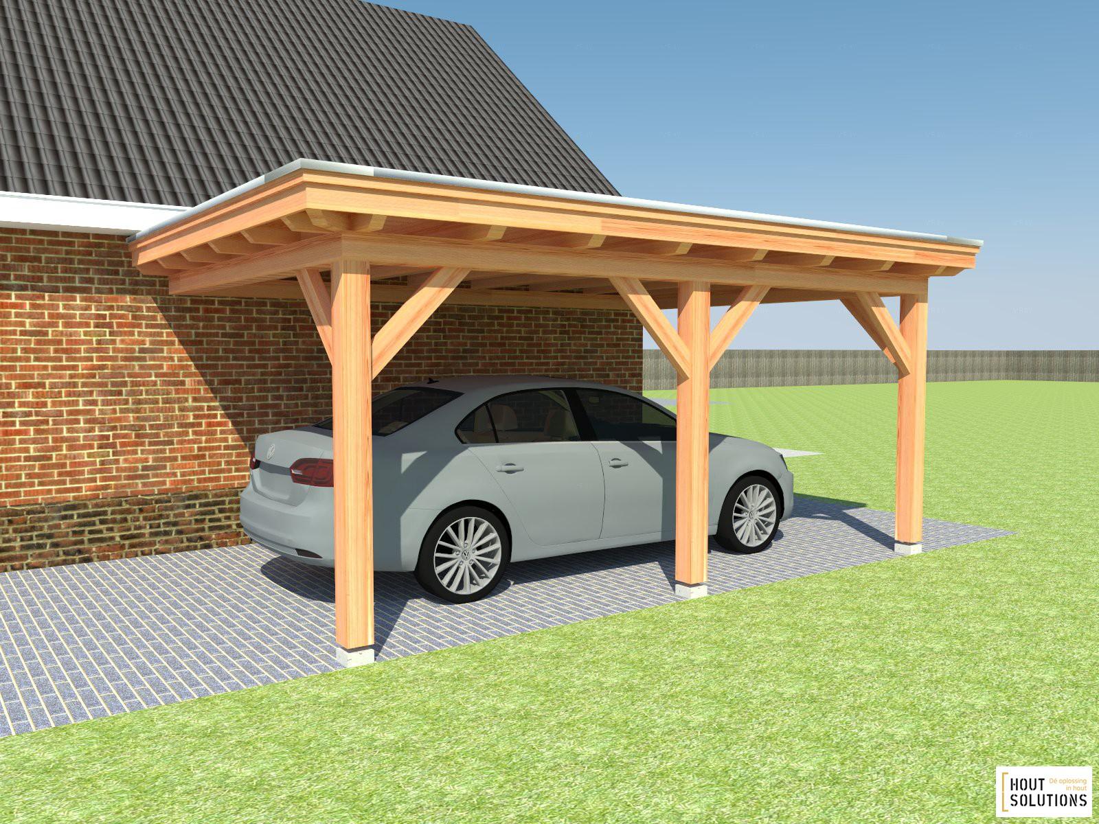 Carport hout bouwpakket in de hal van mijn huis - Modern prieel aluminium ...