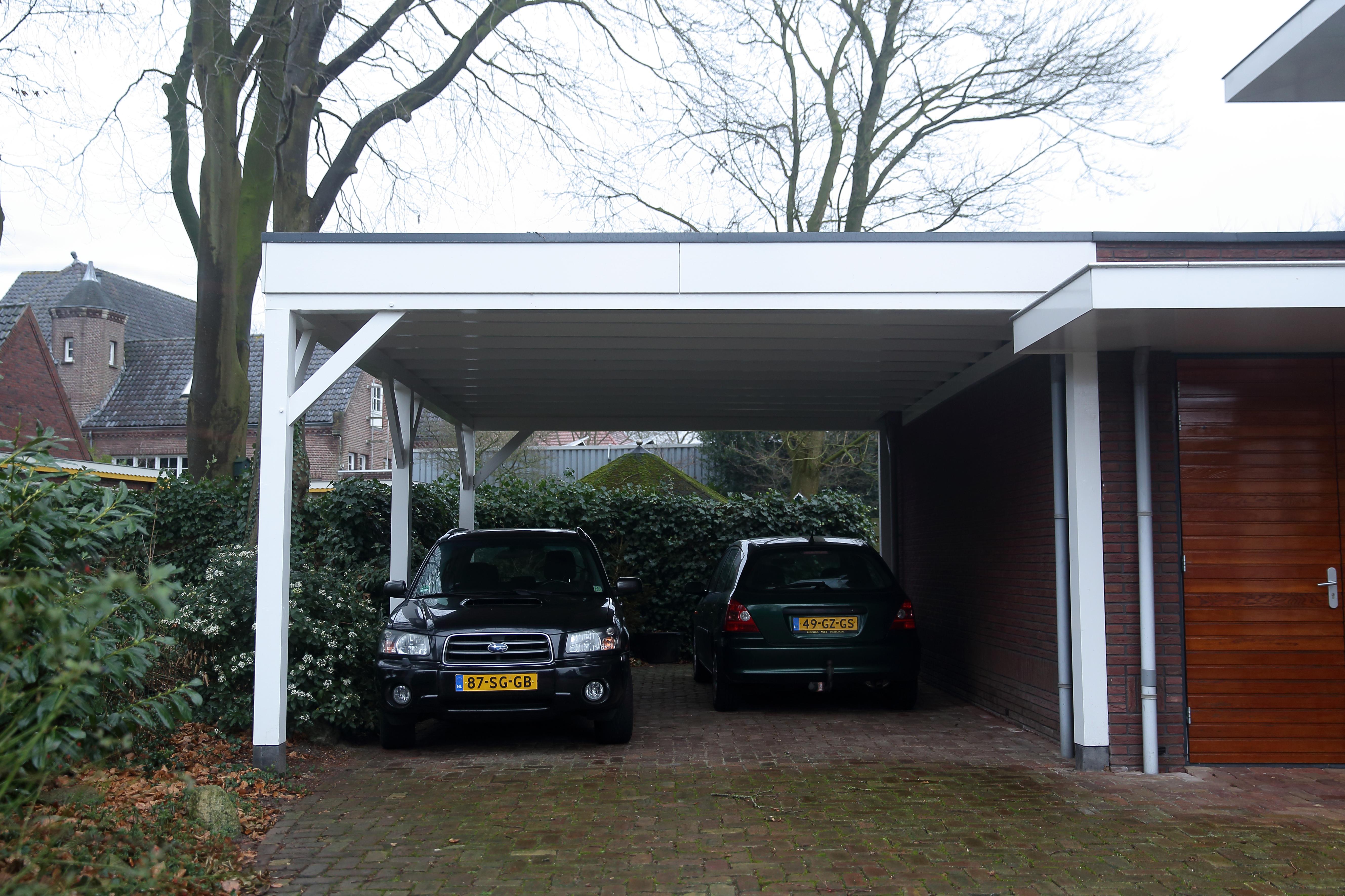 Houten carport - 4