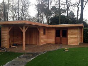 houten tuinhuis 3