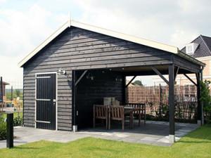 houten tuinhuis 5