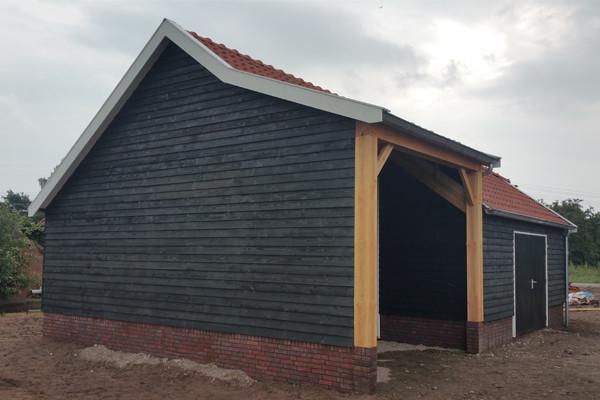 Houten garage nostalgisch houtsolutions for 10x7 garage door