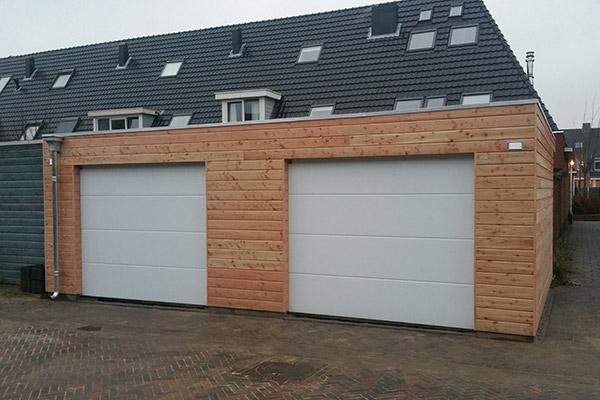 Houten-garage-platdak-1
