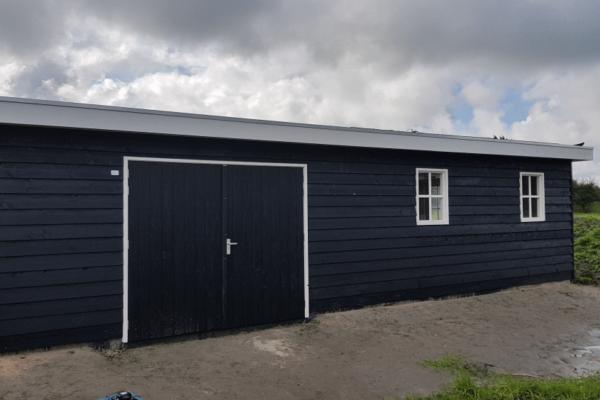 Houten-garage-platdak.01