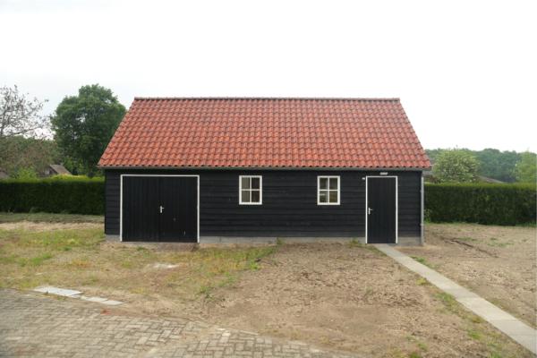 Houten klassieke garage